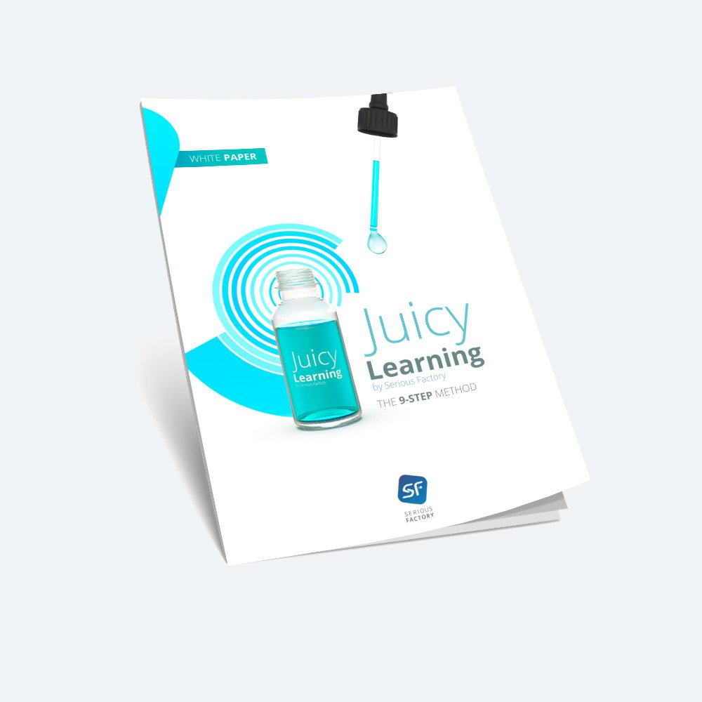 Juicy Learning : the 9-step method by Serious Factory