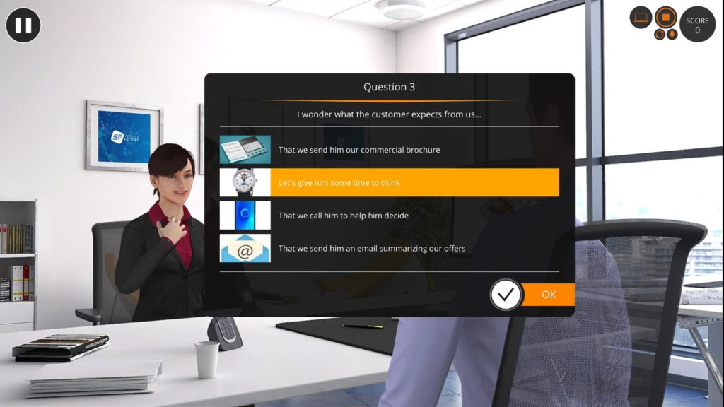 Quiz game learn e-learning