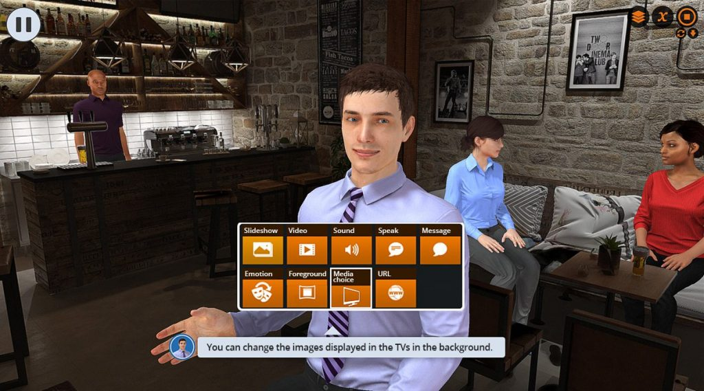 Virtual-training Suite - Serious game, game design photo Serious factory e-learning module